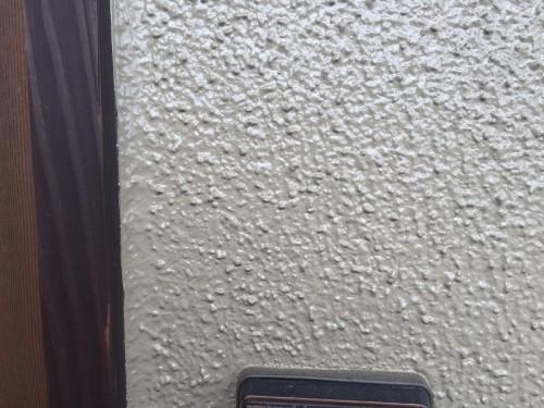 モルタル外壁にシリコン塗装