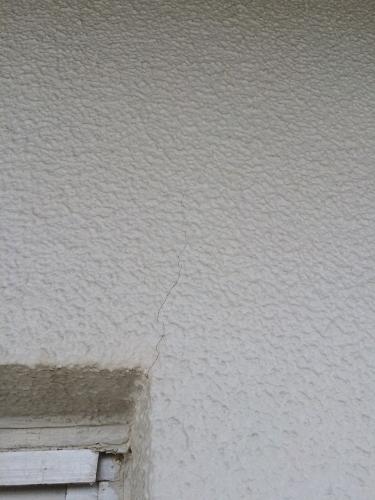 38年経過したコンクリート外壁