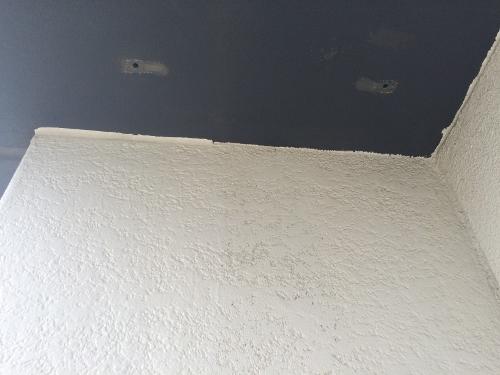 38年経過したコンクリート外壁の天井